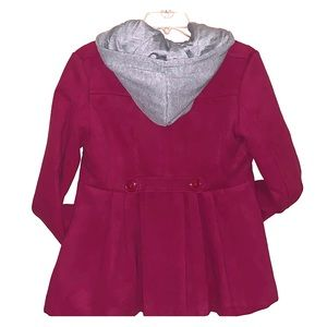 Beautiful rue 21 pink double breasted pea coat